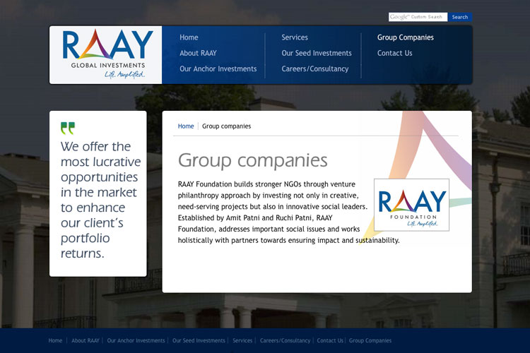 RAAY Global Investments